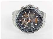 CITIZEN STAINLESS CHRONOGRAPH ECO DRIVE SKYHAWK WR200